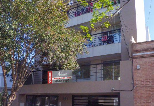 Frente edificio Liniers Carlos Encina El Altillo Inmuebles