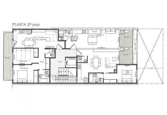 Emprendimiento Liniers Plano 2do piso